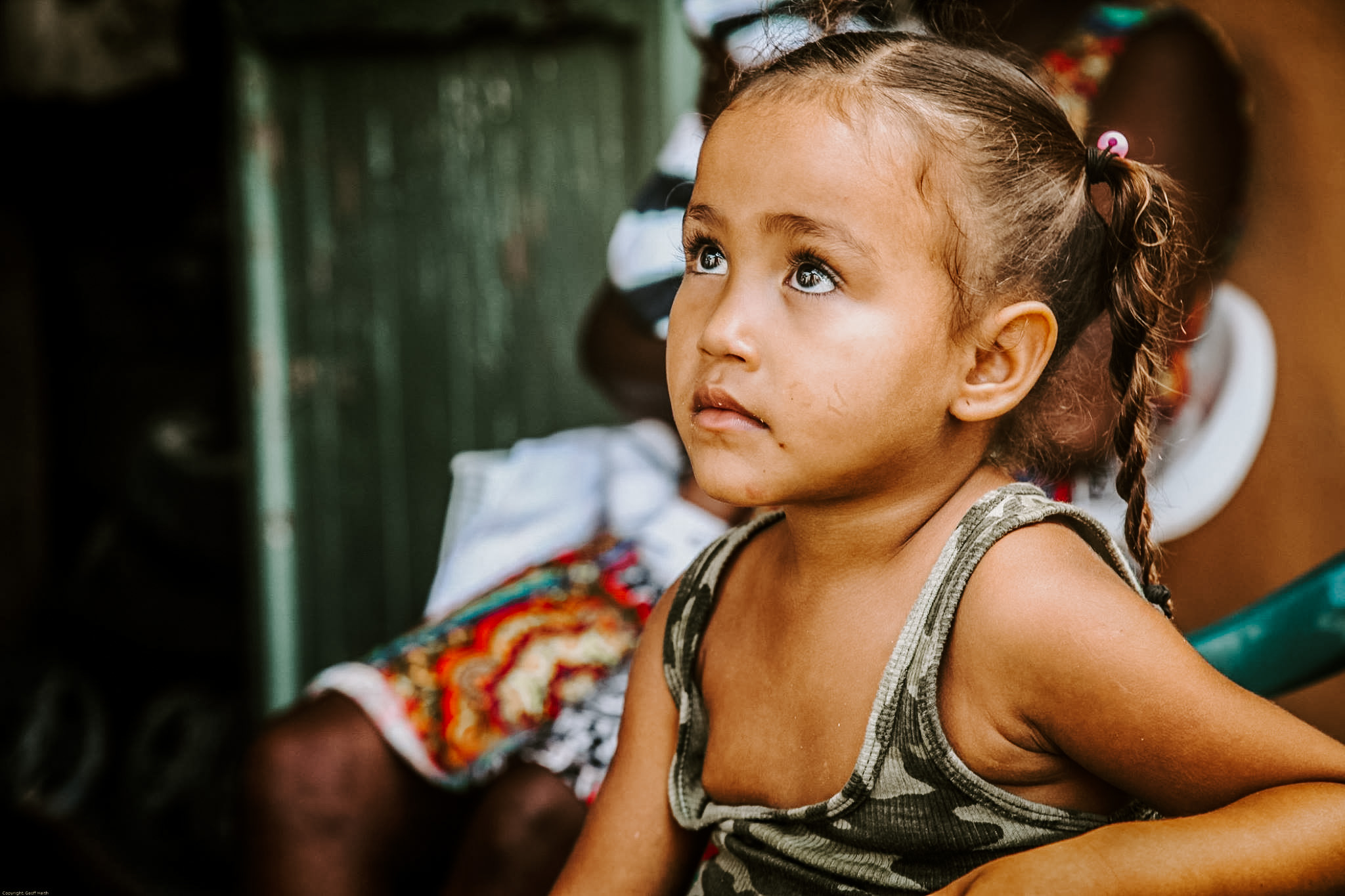 Photo of a little girl from the Dominican Republic