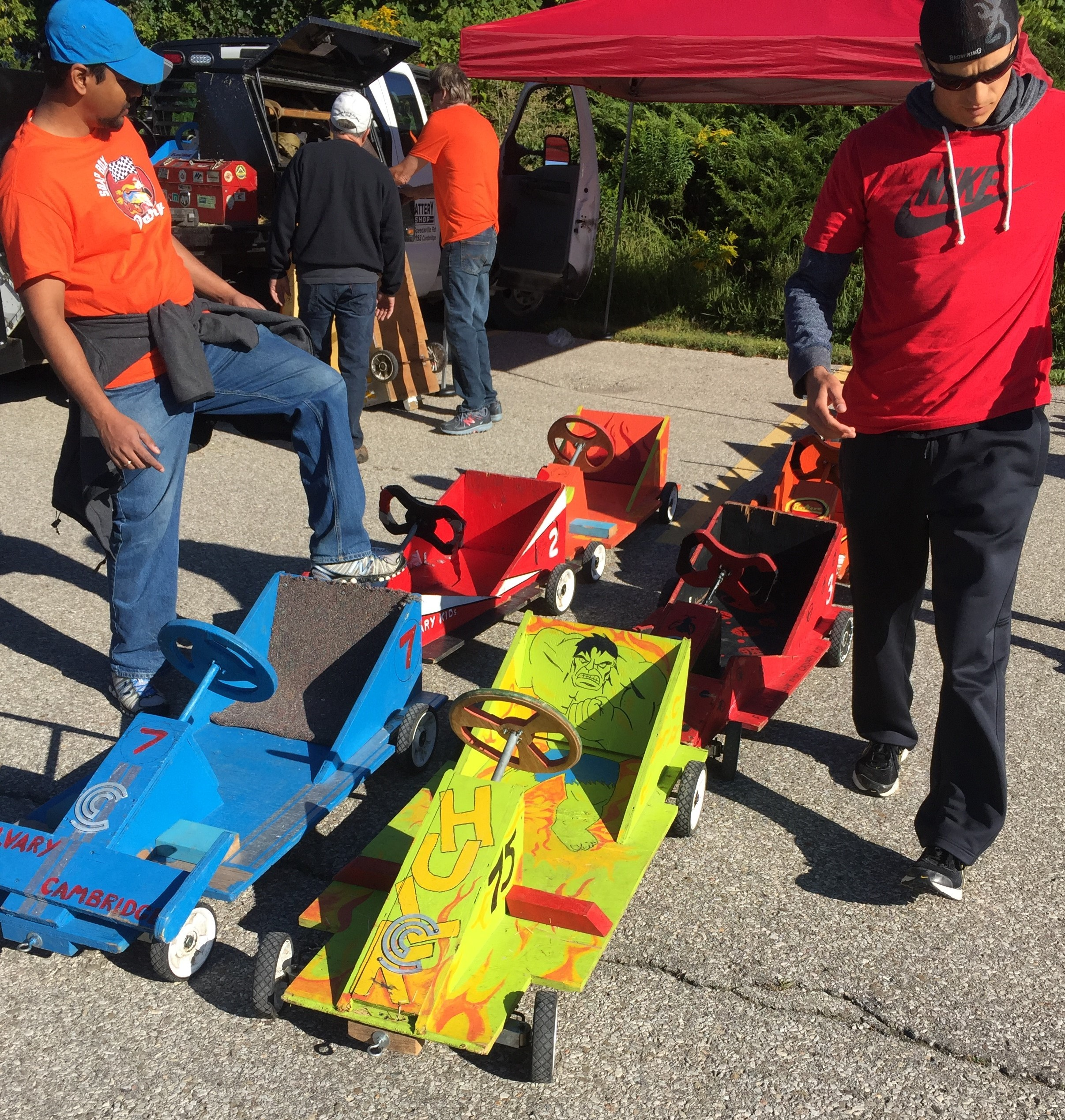 Calvary Soap Box Derby 1