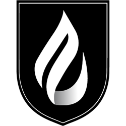 Master's College and Seminary logo in black and white with no text