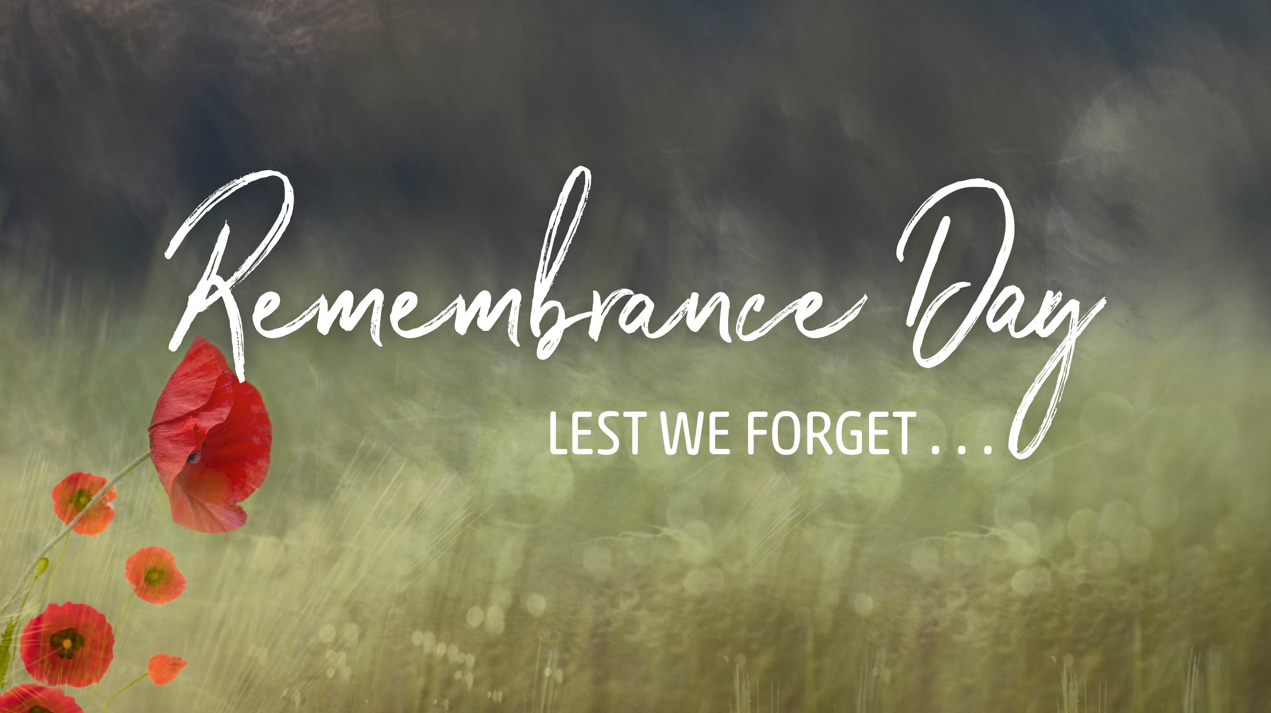 Remembrance Day-Lest We Forget